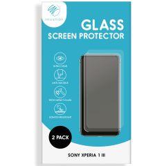 iMoshion Pellicola Protettiva in Vetro Temperato 2 Pezzi Sony Xperia 1 III