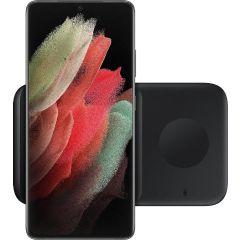 Samsung Duo di caricabatterie senza fili - Nero