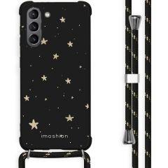 iMoshion Cover Design con Cordino Samsung Galaxy S21 - Stars Gold