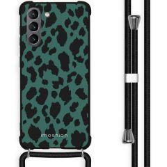 iMoshion Cover Design con Cordino Samsung Galaxy S21 Plus - Panther Illustration