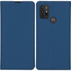 iMoshion Custodia a Libro Slim Motorola Moto G30 / G20 / G10 (Power) - Blu scuro