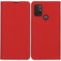 iMoshion Custodia a Libro Slim Motorola Moto G30 / G20 / G10 (Power) - Rosso