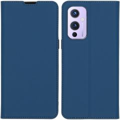 iMoshion Custodia a Libro Slim OnePlus 9 - Blu scuro
