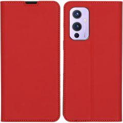 iMoshion Custodia a Libro Slim OnePlus 9 - Rosso