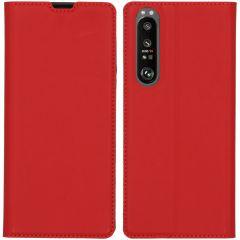 iMoshion Custodia a Libro Slim Sony Xperia 1 III - Rosso