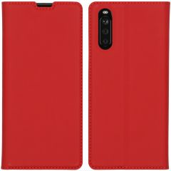 iMoshion Custodia a Libro Slim Sony Xperia 10 III - Rosso