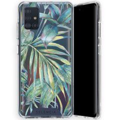 Selencia Zarya Cover Fashion Extra Protettiva Green Jungle Leaves - Green Jungle Leaves