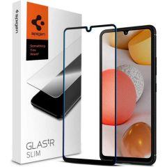 Spigen GLAStR Pellicola Protettiva Samsung Galaxy A42 - Nero