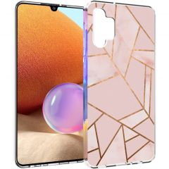 iMoshion Cover Design Samsung Galaxy A32 (4G) - Pink Graphic