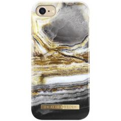 iDeal of Sweden Fashion Cover iPhone SE (2020) / 8 / 7 / 6(s) - Outer Space Agate