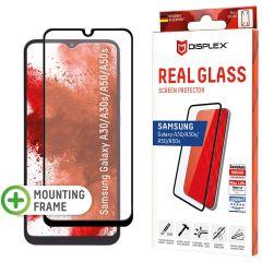 Displex Pellicola Protettiva in Vetro Temperato Full Cover Samsung Galaxy A50 / A30s - Nero