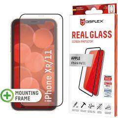 Displex Pellicola Protettiva in Vetro Temperato Full Cover iPhone 11 / Xr - Nero