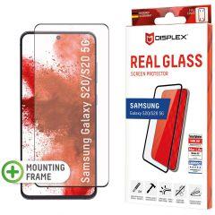 Displex Pellicola Protettiva in Vetro Temperato Fingerprint Sensor Samsung Galaxy S20