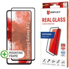 Displex Pellicola Protettiva in Vetro Temperato Full Cover Samsung Galaxy A71 - Nero