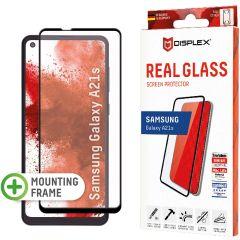 Displex Pellicola Protettiva in Vetro Temperato Full Cover Samsung Galaxy A21s - Nero