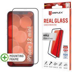Displex Pellicola Protettiva in Vetro Temperato Full Cover iPhone 12 Mini - Nero