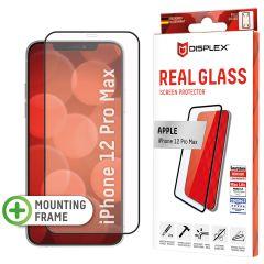 Displex Pellicola Protettiva in Vetro Temperato Full Cover iPhone 12 Pro Max - Nero