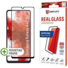 Displex Pellicola Protettiva in Vetro Temperato Full Cover Samsung Galaxy A42 - Nero