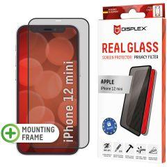 Displex Pellicola Protettiva in Vetro Temperato Privacy iPhone 12 Mini - Nero
