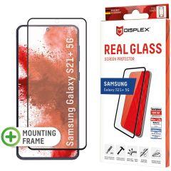 Displex Pellicola Protettiva in Vetro Temperato Full Cover Fingerprint Sensor Samsung Galaxy S21 Plus - Nero