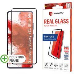 Displex Pellicola Protettiva in Vetro Temperato Fingerprint Sensor Samsung Galaxy S21 Ultra - Nero