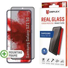 Displex Pellicola Protettiva in Vetro Temperato Privacy Samsung Galaxy S21 - Nero