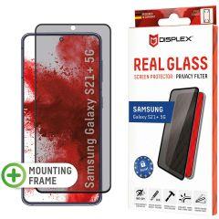 Displex Pellicola Protettiva in Vetro Temperato Privacy Samsung Galaxy S21 Plus - Nero
