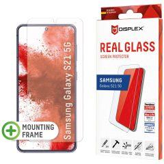 Displex Pellicola Protettiva in Vetro Temperato Fingerprint Sensor Samsung Galaxy S21