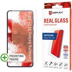Displex Pellicola Protettiva in Vetro Temperato Fingerprint Sensor Samsung Galaxy S21 Plus