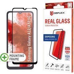 Displex Pellicola Protettiva in Vetro Temperato Full Cover Samsung Galaxy A32 (5G) / A12 - Nero