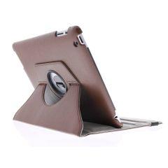 Custodia a Libro Girevole 360° iPad 2 / 3 / 4 - Marrone