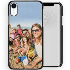 Cover Rigida Personalizzate iPhone Xr - Nero