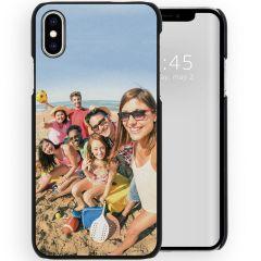 Cover Rigida Personalizzate iPhone Xs / X - Nero