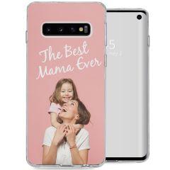 Cover Flessibile Personalizzate Samsung Galaxy S10 - Trasparente
