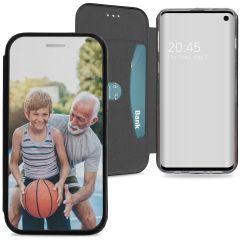 Custiodia Personalizzate (unilaterale) Samsung Galaxy S10 - Nero