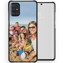 Cover Rigida Personalizzate Samsung Galaxy A71 - Nero
