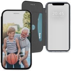 Custiodia Personalizzate (unilaterale) iPhone 12 (Pro) - Nero