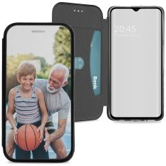 Custiodia Personalizzate (unilaterale) Samsung Galaxy A20e - Nero