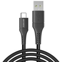 Accezz Cavo USB-C 2 Metri -  2 metro  - Nero