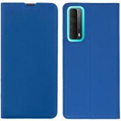 iMoshion Custodia a Libro Slim Huawei P Smart (2021) - Blu scuro