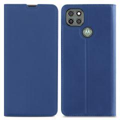 iMoshion Custodia a Libro Slim Motorola Moto G9 Power - Blu scuro
