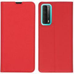 iMoshion Custodia a Libro Slim Huawei P Smart (2021) - Rosso