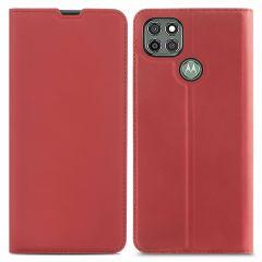 iMoshion Custodia a Libro Slim Motorola Moto G9 Power - Rosso