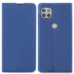 iMoshion Custodia a Libro Slim Motorola Moto G 5G - Blu scuro