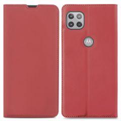 iMoshion Custodia a Libro Slim Motorola Moto G 5G - Rosso