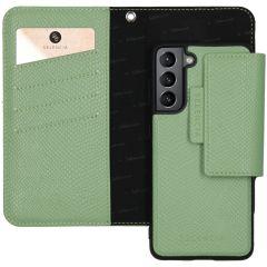 Selencia Llyr Custodia rimovibile 2 in 1 Serpente Samsung Galaxy S21 - Verde