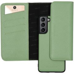 Selencia Pochette Rimovibile Serpente Samsung Galaxy S21 Plus - Verde