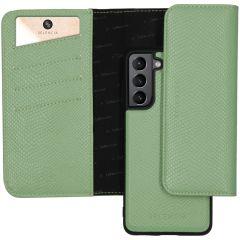 Selencia Pochette Rimovibile Serpente Samsung Galaxy S21 - Verde