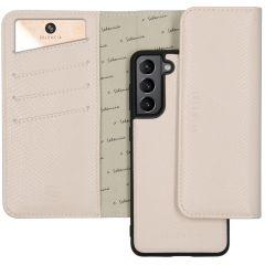 Selencia Pochette Rimovibile Serpente Samsung Galaxy S21 - Bianco