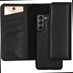 Selencia Eny Pochette in Pelle Vegana rimovibile Samsung Galaxy S21 Plus - Nero